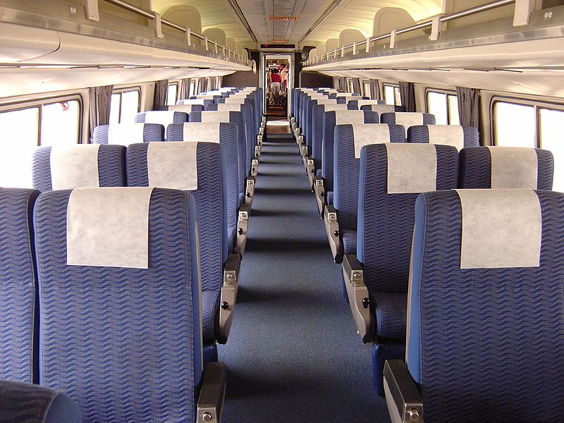 Amtrak Car